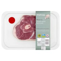 Waitrose Bone in Welsh Lamb Leg Steak