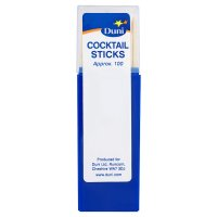 Duni cocktail sticks, pack of 100