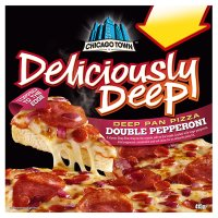 Chicago Town deliciously deep double pepperoni