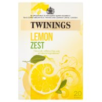 Twinings lemon zest 20 teabags