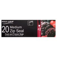 Polylina medium food & freezer bags