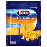 Young's Scottish smoked haddock 4 flaky fillets
