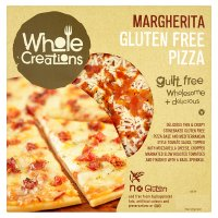 WholeCreations Margherita Gluten Free Pizza