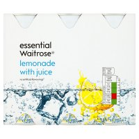 essential Waitrose lemonade with juice