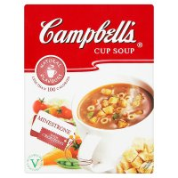 Campbell's minestrone cup soup