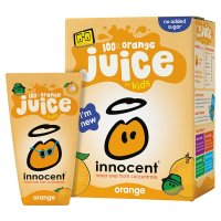 Innocent kids orange juice, 4x180ml