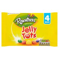 Rowntrees jelly tots 4 bags