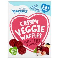 Heavenly Sweet Beet Veggie Waffles
