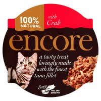 Encore 100% natural with crab