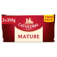 Cathedral City mature Cheddar cheese twin pack