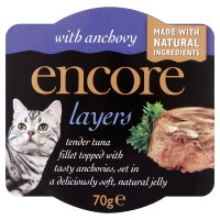 Encore layers with anchovy