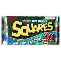Kellogg's rice krispies squares chocolatey mint