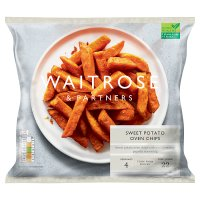 Waitrose LoveLife sweet potato oven chips