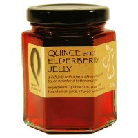 Quince Products quince & elderberry jelly