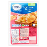Weight Watchers mini naan breads