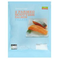Waitrose Responsibly Farmed 2 Scottish salmon fillets