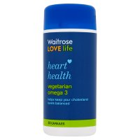 Heart health vegetarian omega3