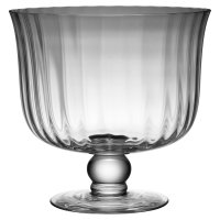 Waitrose Dining Fluted Trifle Bowl