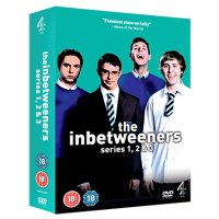 DVD Inbetweeners: Series 1-3