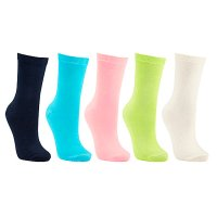 John Lewis Women cotton rich ankle socks - multi
