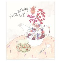 Waitrose Happy Birthday to You Card