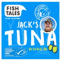 Fish Tales Jack's tuna in olive oil