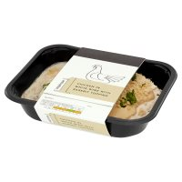 Waitrose 1 Chicken in white wine with rarebit topping