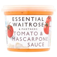 essential Waitrose tomato and mascarpone sauce