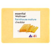 essential Waitrose mature farmhouse cheddar