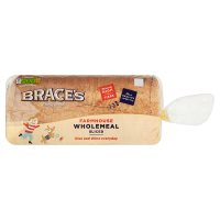 Brace's classic wholemeal sliced bread