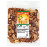 Mr Fruit Mixed Nuts Caramel