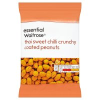 essential Waitrose Thai sweet chilli coated peanuts
