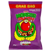 Walkers Monster Munch pickled onion single crisps