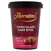 Thorntons Chocolate Cake Bites