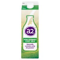 a2 semi skimmed fresh milk