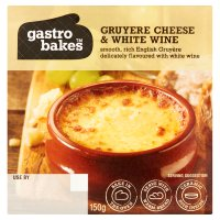 Gastro Bakes gruyere cheese & white wine