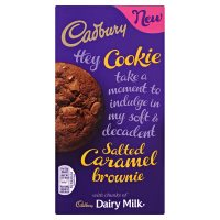 Cadbury Salted Caramel Brownie