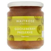 Waitrose gooseberry preserve