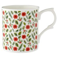 Waitrose Ditsy Holly Mug