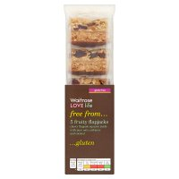 Waitrose LOVE life gluten free fruity flapjacks