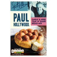 Paul Hollywood Garlic & Herb Tear & Share Bread Mix