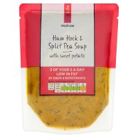 Waitrose LOVE life ham hock & split pea soup
