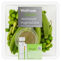 Waitrose summer vegetables