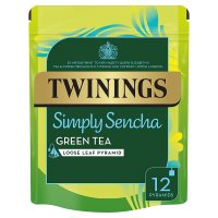 Twinings simply sencha green tea 12 pyramids