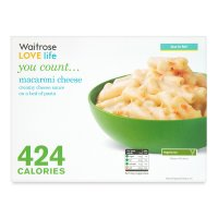 Waitrose LOVE Life you count  Macaroni Cheese