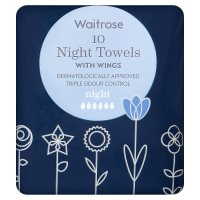 Waitrose Night Towels with Wings