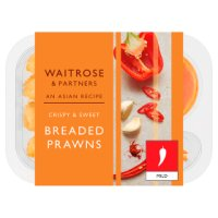 Waitrose Asian Breaded King Prawns with Chilli Sauce