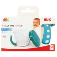 By NUK snackpot with lid