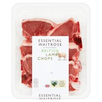 essential Waitrose British Lamb Chops