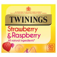 Twinings red berries 80 tea bags